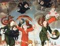 Votivbild im Auftrag von Wilhelm Slawata von Chlum und Koschumberg zum Anlass seiner Rettung durch die Himmelmutter Maria nach dem Prager Fenstersturz im Jahr 1618, Künstler unbekannt