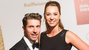 Marcel Hirscher und seine Freundin Laura.