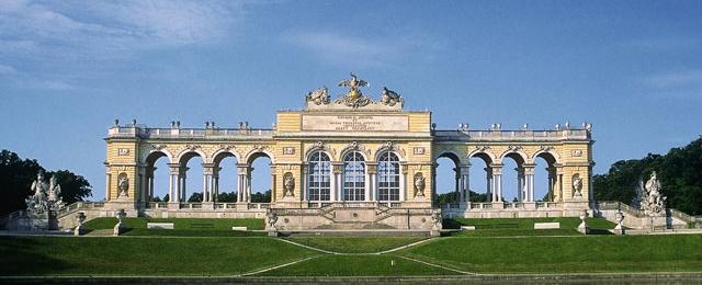 Gloriette im Schloss Park von Schönbrunn