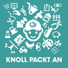 Knoll packt an - Podcast - Logo