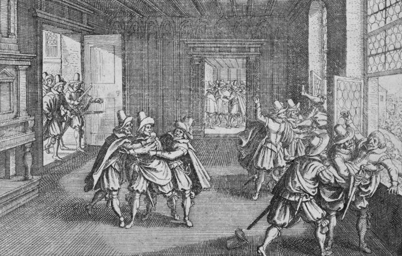 Stich im 'Theatrum Europeum' 1662.