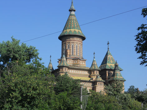 Temesvar Rumänien Kathedrale