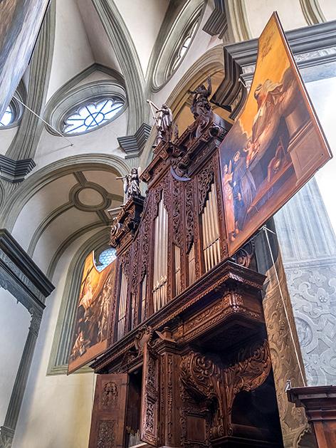 Die Wöckherl-Orgel in der Wiener Franziskanerkirche