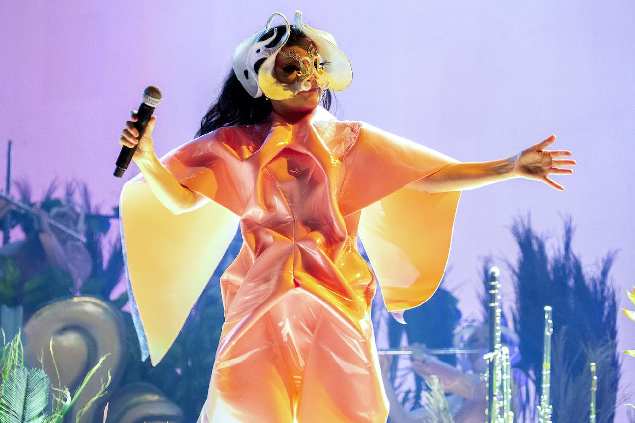 Björk am Primavera Barcelona