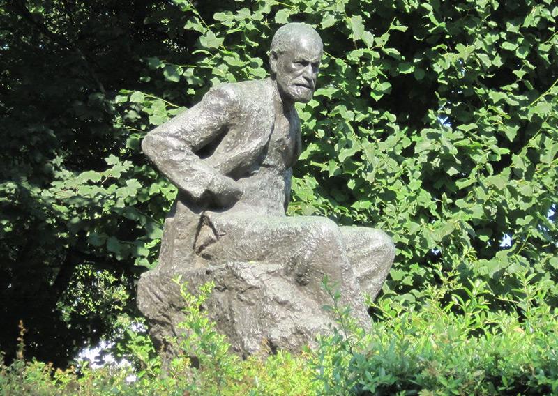 Die Statue in London