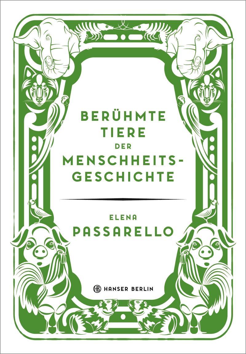 Buch-Cover mit Illustration von Tieren
