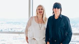 Claudia Stöckl und Gottfried Helnwein
