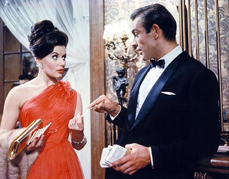 Filmszene aus James Bond – 007 jagt Dr. No