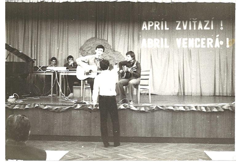 José Alberto, XII Jubileum der Nelken Revolution, Prag 1986