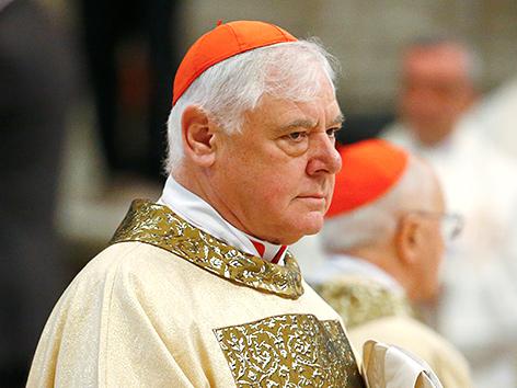 Der deutsche Kardinal Reinhard Müller