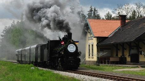 Dampflok Waldviertelbahn