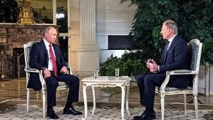 Armin Wolf interviewt Putin