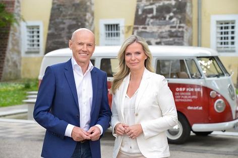 Peter Resetarits und Claudia Reiterer, ORF Für Sie