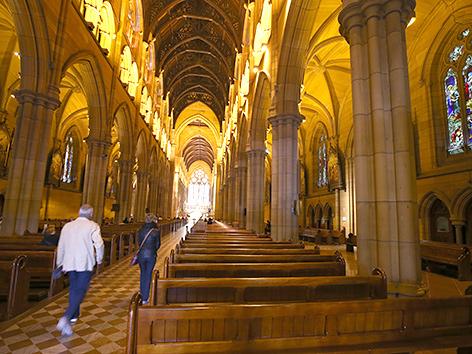 Die St.-Mary's-Kathedrale in Sydney, Australien