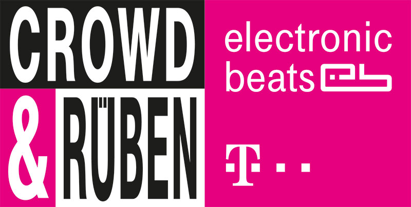 """Logo der Partyreihe """"Crowd & Rüben"""""""