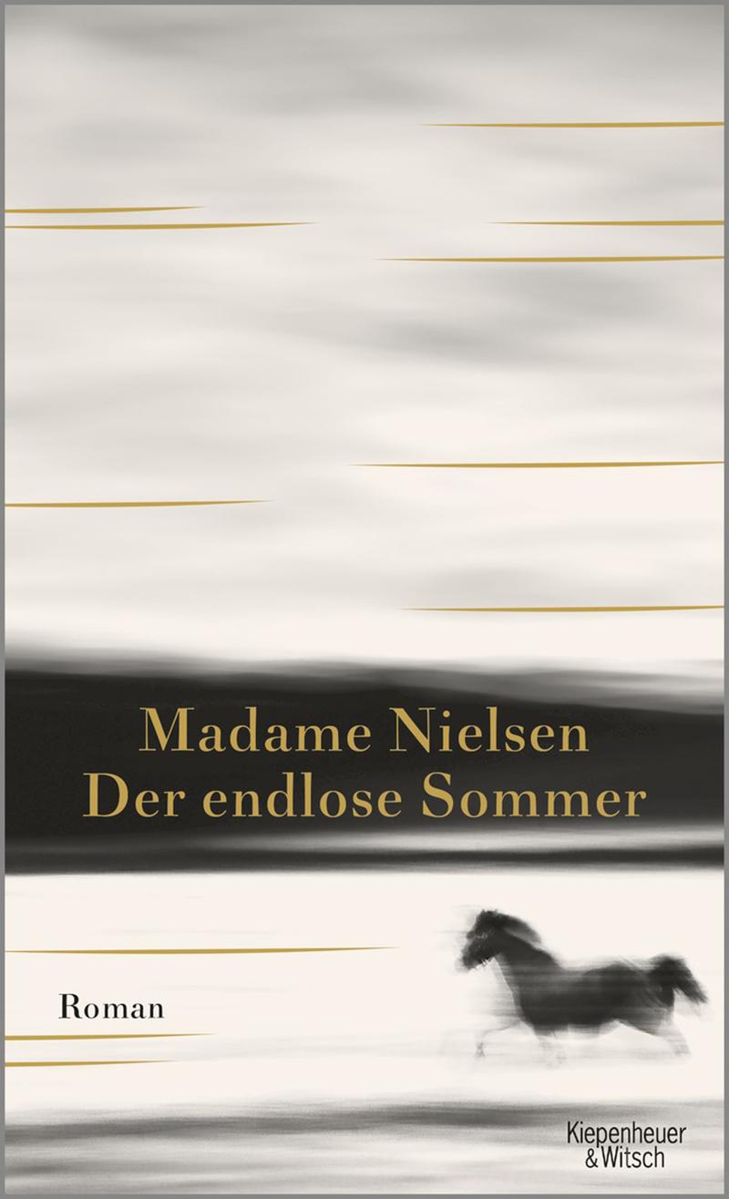 """Buchcover Madame Nielsen """"Der endlose Sommer"""""""