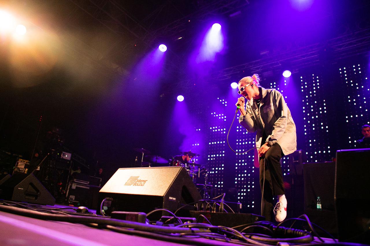 Mavi Phoenix auf der FM4-Bühne beim Donauinselfest 2018