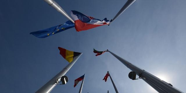 Das EU- Parlament in Straßburg