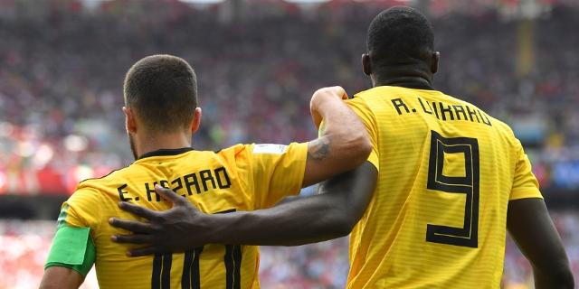 Belgien Hazard und Lukaku