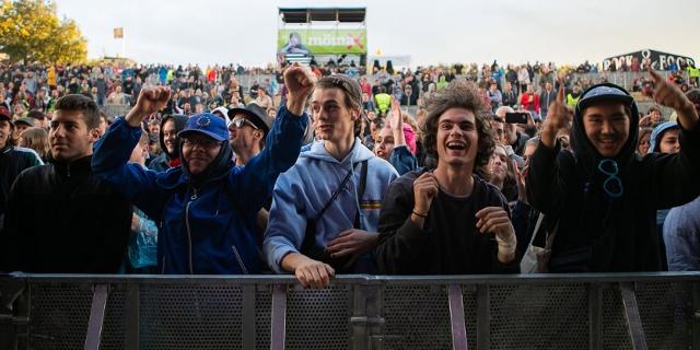 Publikum beim Donauinselfest