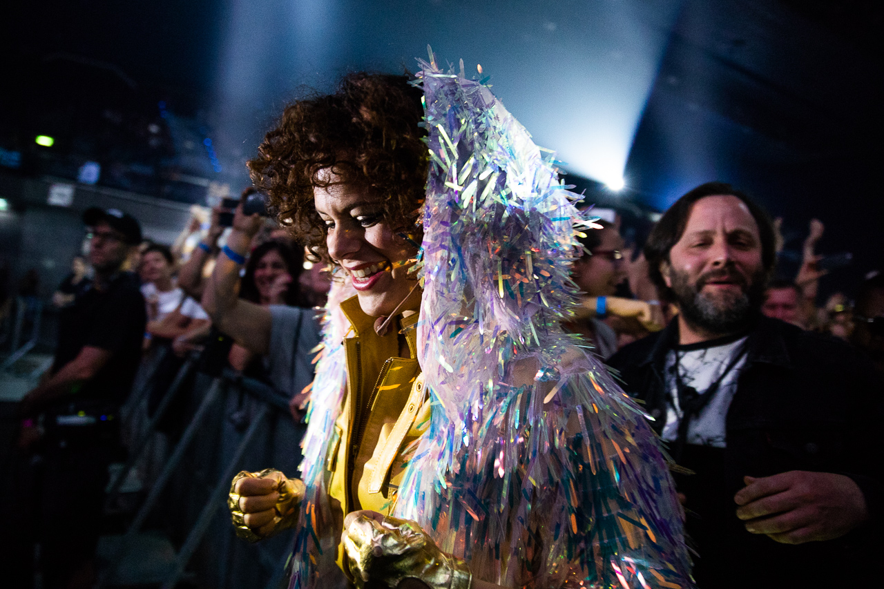 Régine Alexandra Chassagne Arcade Fire Stadthalle 2018