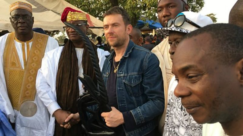 damon albarn in mali