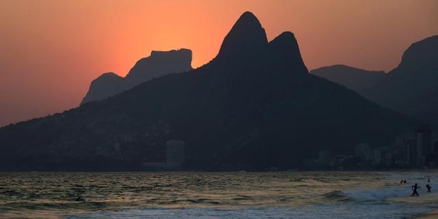 Ipanema-Strand in Rio