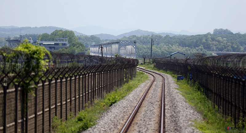 Imjingang Railroad Bridge Korea