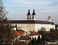 Sicht auf das Stift Kremsmünster in Oberösterreich
