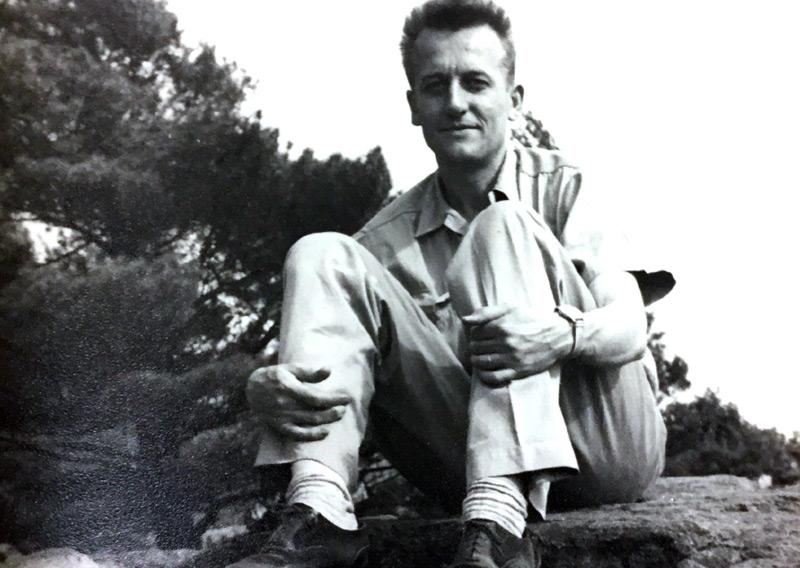 Elmer Luchterhand in den 1940er-Jahren