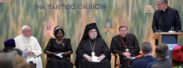 Papst Franziskus in Genf