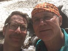 Heinz Slupetzky mit dem Autor