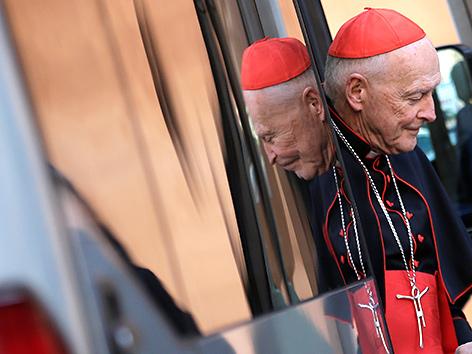Der US-Kardinal Theodore McCarrick
