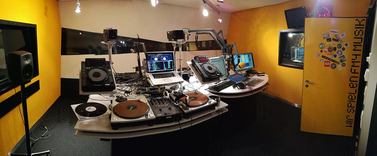 FM4 DJ-Studio