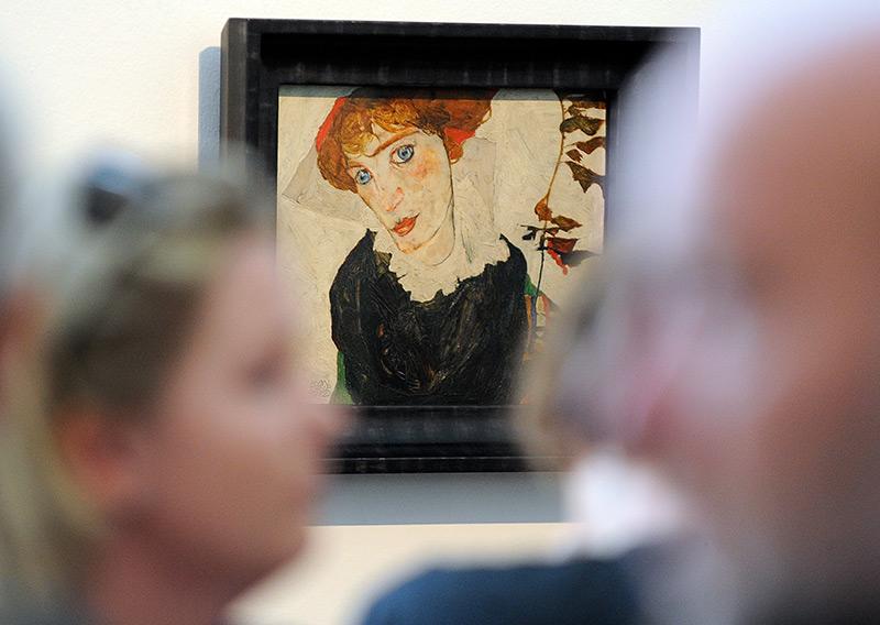 """Schieles """"Wally"""" 2010 im Leopold Museum in Wien."""