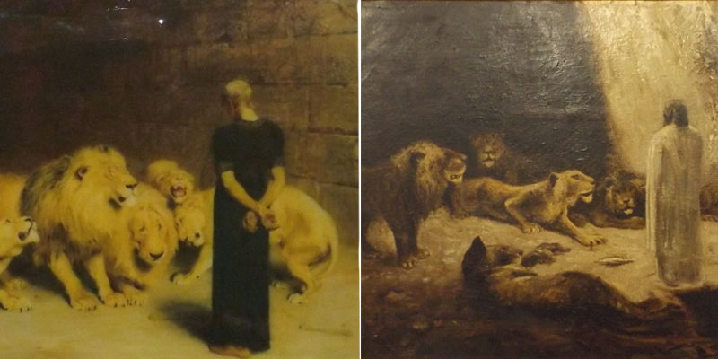 Bilder im Fälscher-Museum