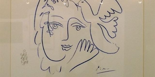 Picasso-Fälschung  im Fälscher-Museum