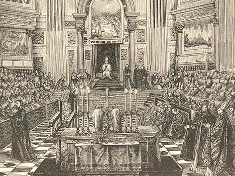 Erstes Vatikanisches Konzil vor 150 Jahren einberufen – religion.ORF.at