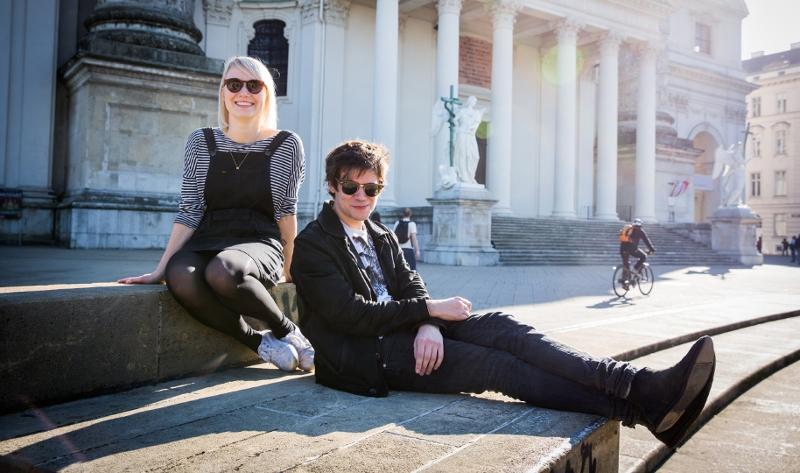 Katharina Seidler und der Nino aus Wien