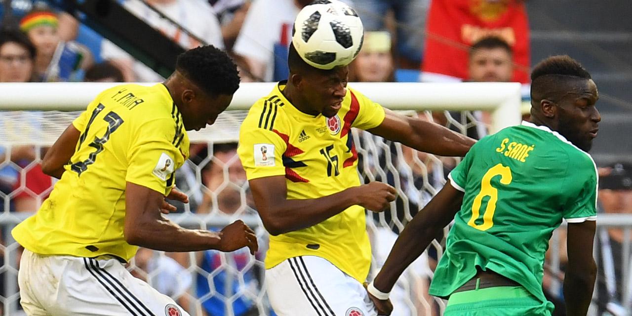 Fußball WM Kolumbien gegen Senegal