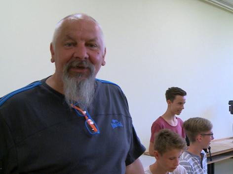 ritz Dirninger und seine Schüler des Stiftsgymnasium Admont