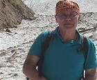 Heinz Slupetzky beim Wandern