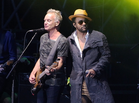 Sting & Shaggy live in St. Margareten