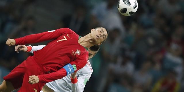 Cristiano Ronaldo und Gerard Pique