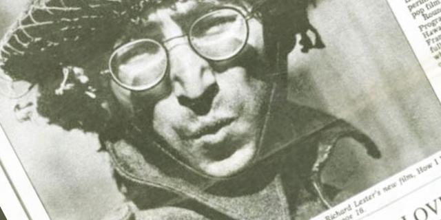 Magazincover mit John Lennon