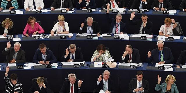 EU Parlament bei einer Abstimmung