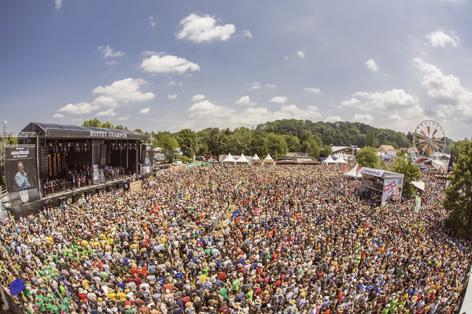 Woodstock der Blasmusik 2018 Gesamtspiel