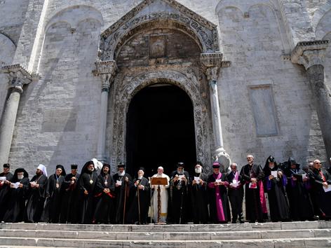 Papst Bari Treffen Naher Osten