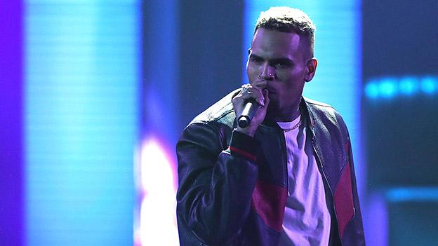 Chris Brown bei einem Auftritt