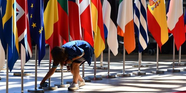 Die Fahnen europäischer Staaten
